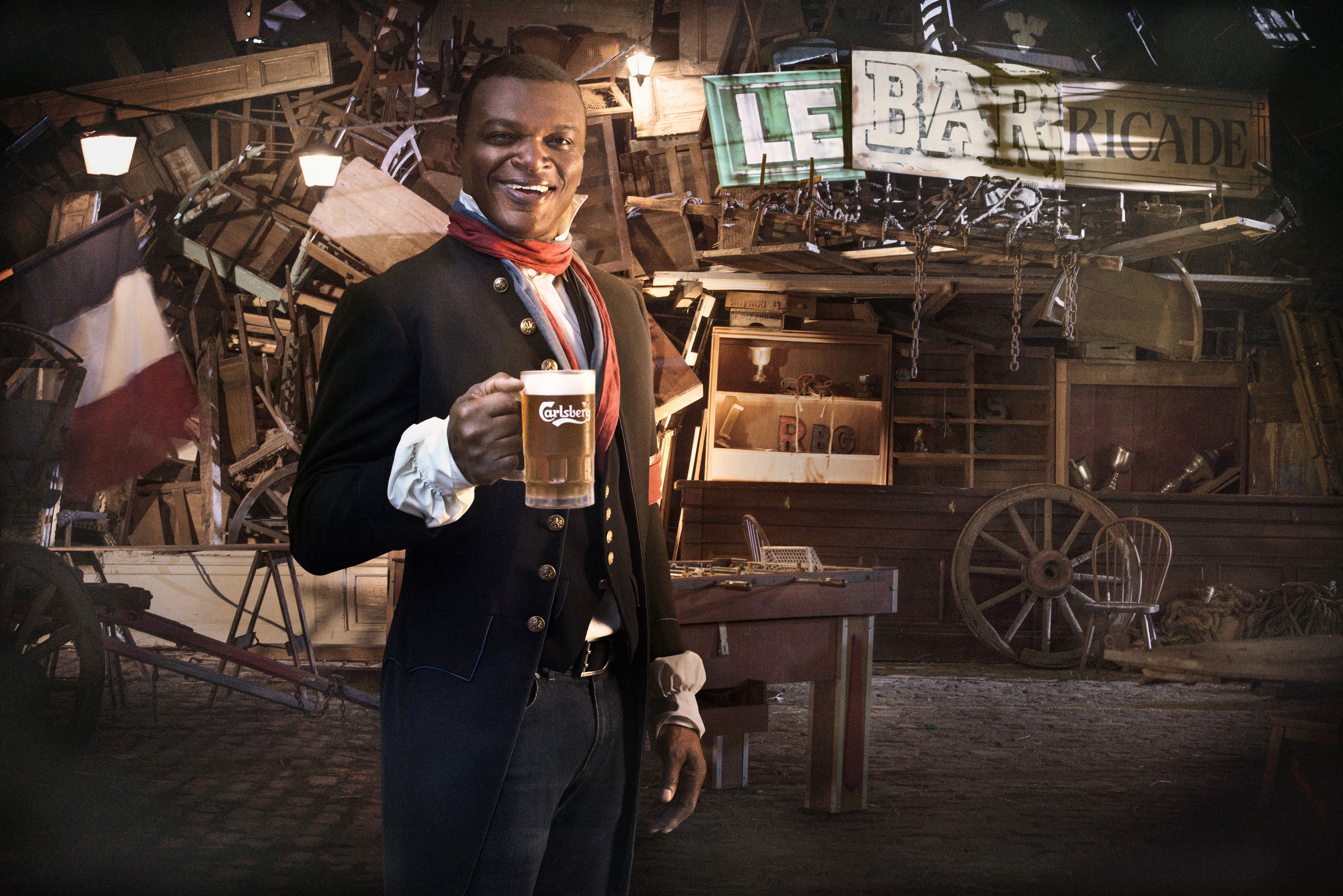 Newsroom Marcel Desailly Leads Carlsberg Fan Revolution for UEFA
